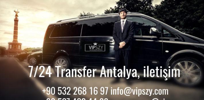 7/24 Transfer Antalya